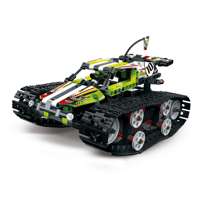 Nuevo 20033 técnica serie Compatible Legoingly 42065 RC pista de control remoto coche de carreras conjunto de bloques de construcción ladrillos juguetes educativos
