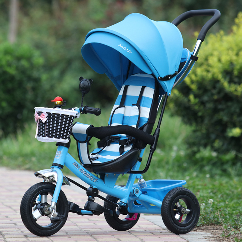 Free Shipping Inflatable Rubber Wheel Tire Children Toy Ourdoor fun & Sports Tricycle Bicycle Baby Stroller Trolley Cart