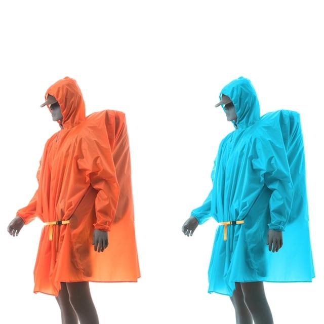 3F UL Poncho Ultralight  Raincoat   15D Silicone 210T 6