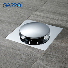 GAPPO Drains vierkante badkamer douche drain zeef afval afdruiprek anti geur bad douche afvoerputje cover stopper douche