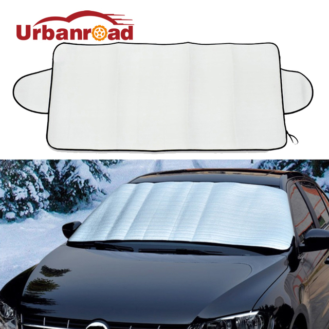 Universal Car Windshield Cover Snow Protector Freezing Dust Frost Ice Shield Auto Front Windscreen