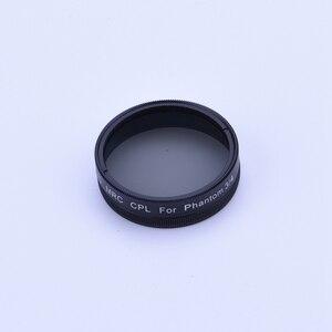 Image 4 - Screw on UV CPL ND4 ND8 ND16 ND2 400 Filter for DJI Phantom 3 Phantom 4 Drone Camera Lens Polarizing Neutral Density Spare Parts