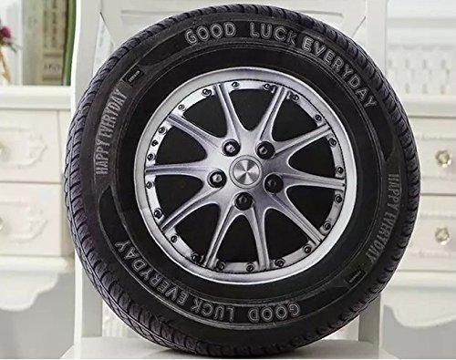 Decorative Throw Pillow 3D Effect Tyres Car Tire Simulation Sofa Car <font><b>Cushion</b></font> Nap Seat <font><b>Cushion</b></font> <font><b>Home</b></font> Decoration