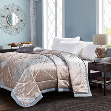 Summer Comfortable Pleasantly cool quilt Modal fabric silky smooth Queen/Full/Twin size