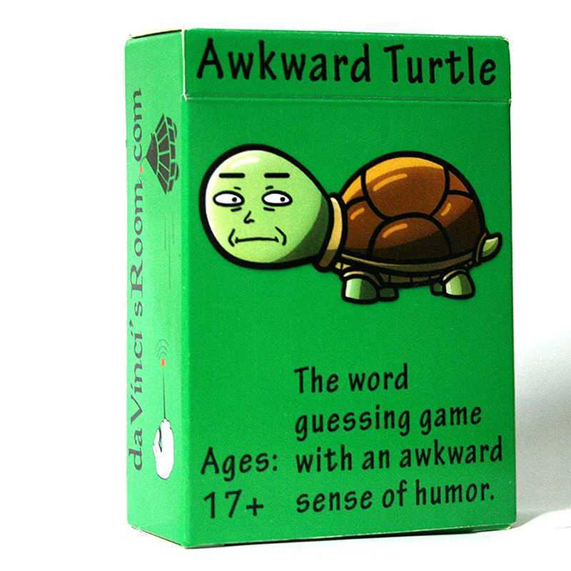 Turtle Game Cards Collectible Card Awkward Playing Card Series Cosplay Collection Prop Kids Family Funny Entertainment Toys