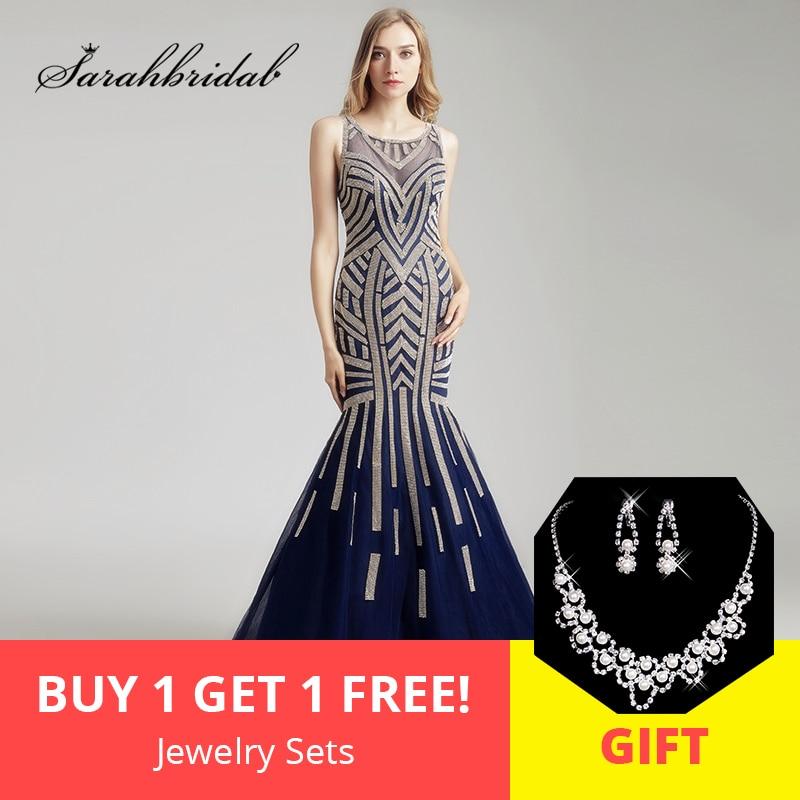 2019 SS элегантное вечернее синее платье из тюля с рюшами, длинное платье для вечеринки на красной дорожке, сексуальное платье с открытой спино