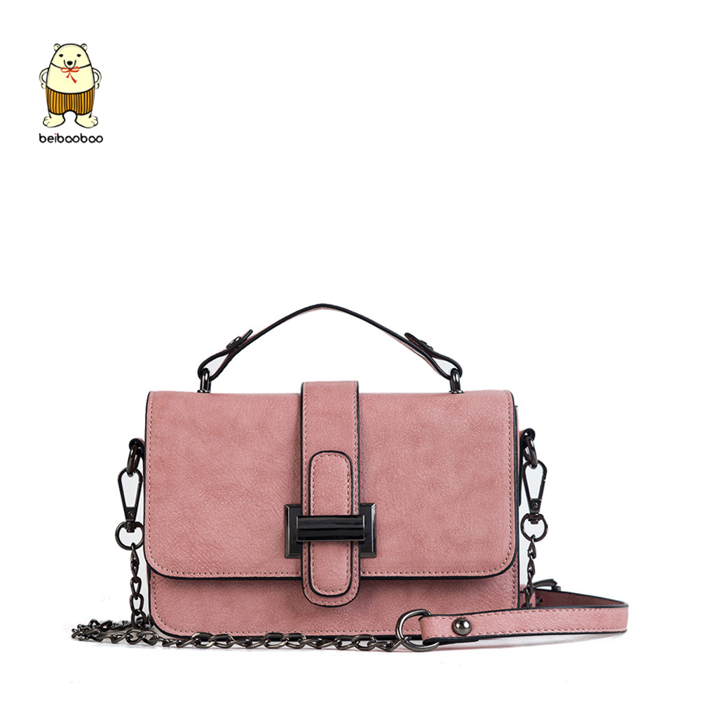 Beibaobao 2019 New PU leather Lady Women Messenger bags Fashion Female Crossbody Classic Popular Casual Evening