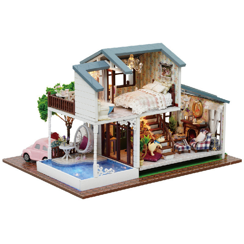 Sylvanian Families House DIY Doll House London Holiday mano casa - Muñecas y peluches - foto 2