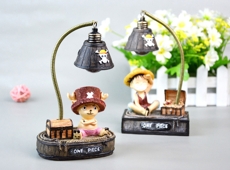 Creative Cartoon Night Light Japanese Anime Small Night Lights For Kids Children Birthday Christmas Gift Resin Ornaments Crafts (2)