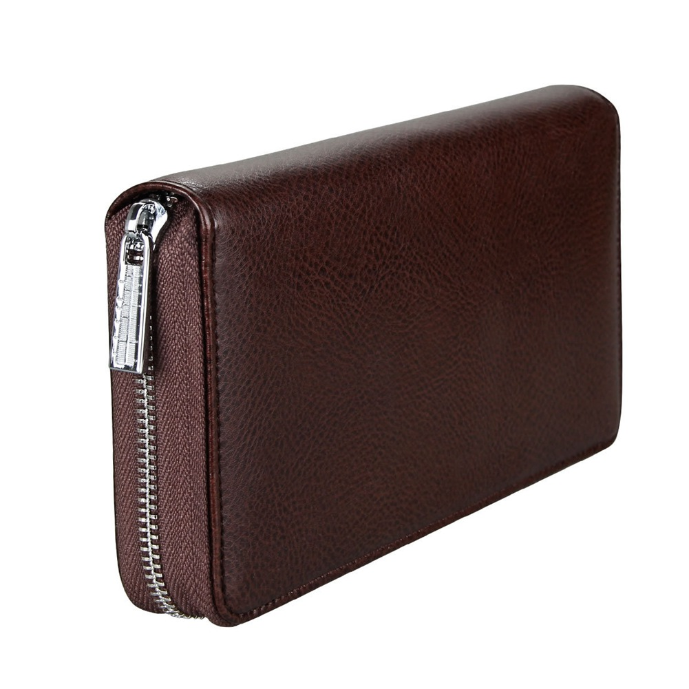 Men Genuine Leather RFID Walle Credit Card Wallet t Money Storage Large Capacity Purse LT88