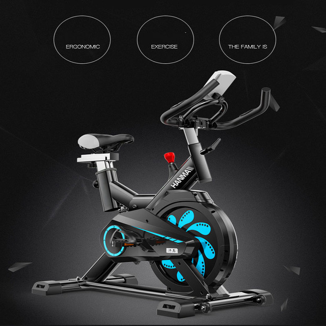 Spinning Indoor Cycle Bikes Tough Quiet  Triangle-shaped Machine  Losing-calorie Home Exercise Bike Gym Equipment