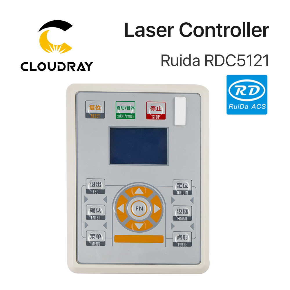 Cloudray Ruida RD RDC5121 Lite Version Co2 Laser DSP Controller for Laser Engraving and Cutting Machine цена