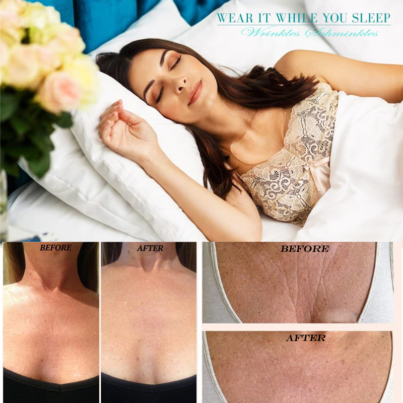 Anti Wrinkle Chest Pad to Prevent and Eliminate Wrinkles 100% Grade Silicone Skin Beauty Care Protect Lines