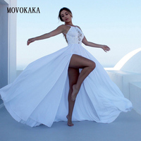 Hot White Summer Dress Zipper Long Dresses Elegant Party Vestidos Casual Halter Sexy Lace Dress Women Beach Hollow Dresses Women