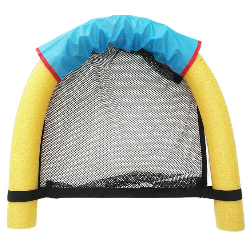 6.0x150CM Children Kids Soft Noodle Pool Mesh Water Floating Chair Swimming Seat