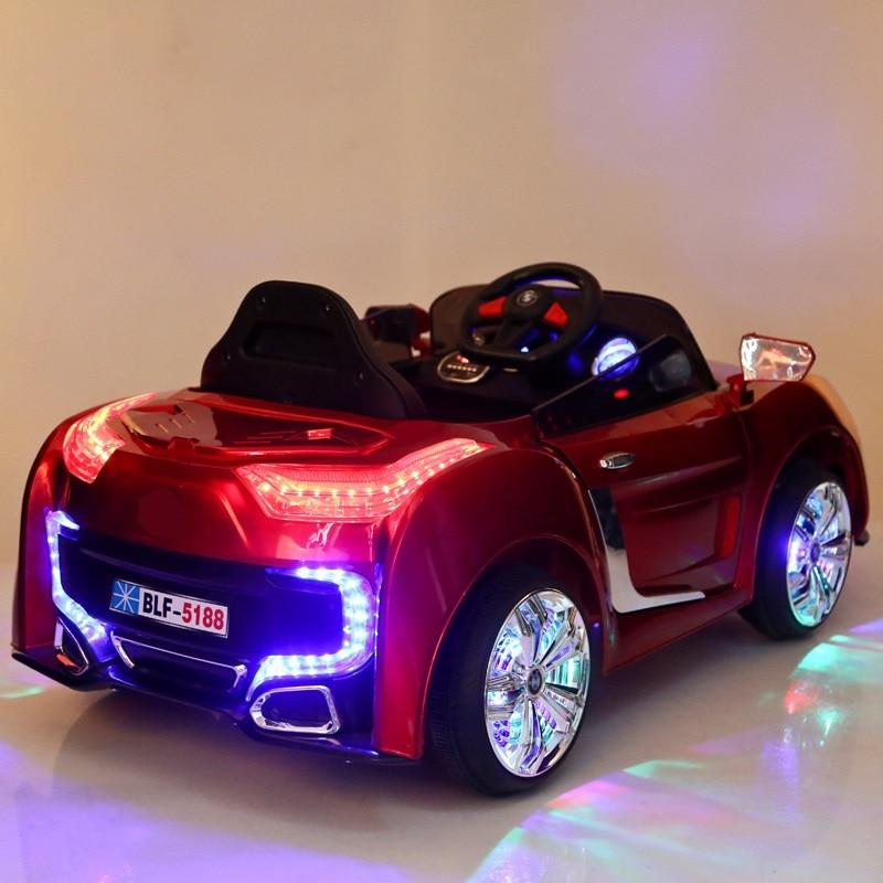 2.4g controlador remoto doble puerta abierta Kids Ride en cochecito - Deportes y aire libre