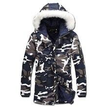 2016 Wadded Mit Kapuze Männer Mäntel Veste Homme Parkas Jaqueta Masculina männer Casual Fashion Slim Fit Mittel-lange Camouflage Jacken