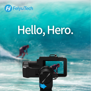 Image 5 - FeiyuTech WG2X Wearable Mountable Action Camera Gimbal Splash proof Stabilizer for GoPro Hero 7 6 5 4  Sony RX0 Action Camera