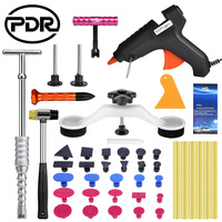 PDR Tools Car Body Repair Kit Auto Repair Tool Paintless Dent Repair Tools Dent Removal Puller Kit Slide Hammer Tool Set