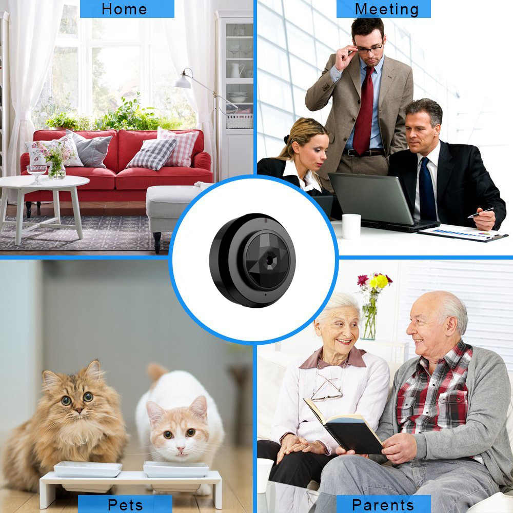 Wifi IP Mini Camera Wireless 1080P Night Vision Camcorder Micro Camera Home Security cam Video Recorder support hidden TF card