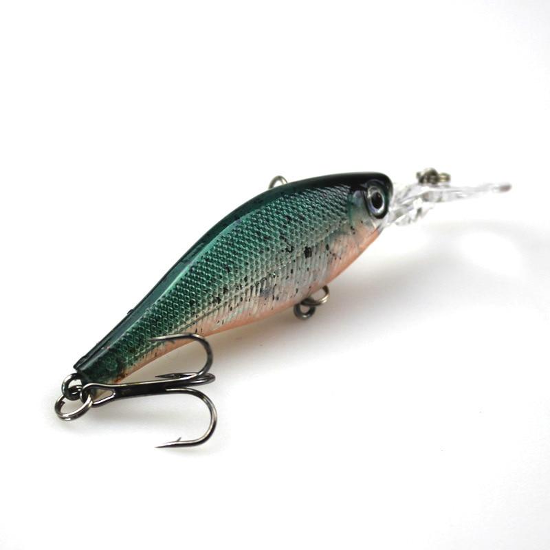 6Pcs Cilësia më e lartë e Peshkimit Minow Vendosja e joshur Wobler - Peshkimi - Foto 5