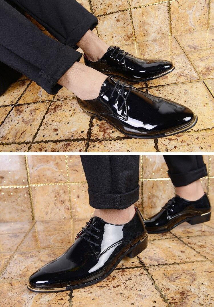 переходе, мужские лаковые туфли с чем носить фото намерения поступки