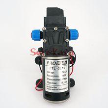 T YB DC 12V 100W kendinden emişli diyaframlı su pompası otomatik basınç anahtarı 300L/H araba yıkama
