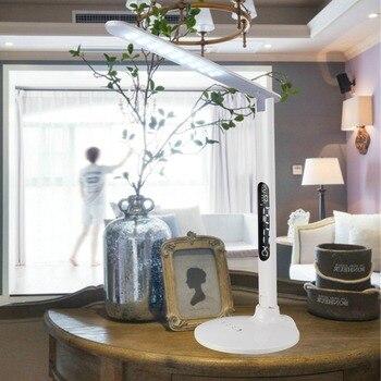 Touch Switch light LED Table Lamp Foldable Multifunction 5-level 10W LED Desk lamp Work/Study/Reading lamp night Light