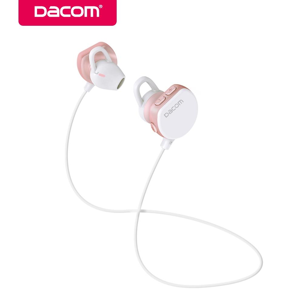DACOM Wireless Bluetooth Earphone Headset music running double ear for Apple 7/ Samsung / HUAWEI mobile phone