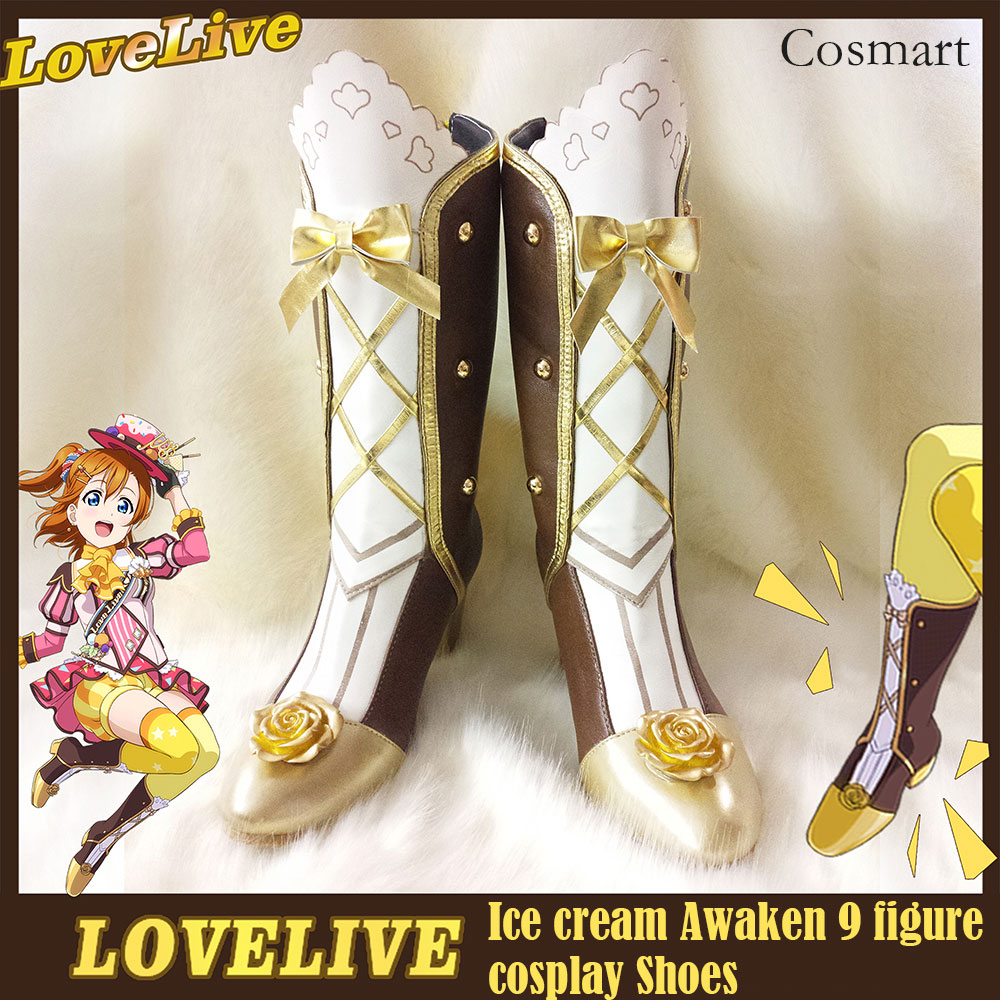 [Customized]Collection!Anime Lovelive!Ice cream Awaken 9 figure Shoes Halloween Carnival Cosplay anysize