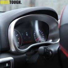 For Kia Sportage 2017 - 2020 QL LHD Navi Dash Frame Cover Instrument Gauge Panel Chrome Molding Console Interior Bezel