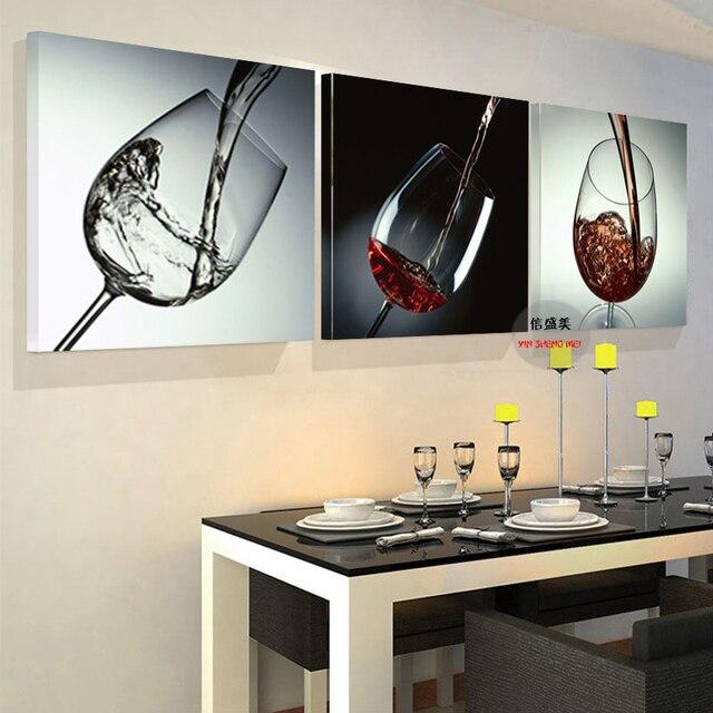3 Panel Moderne Bild Gemälde Wand Bilder Für Wohnzimmer Abstrakte ...