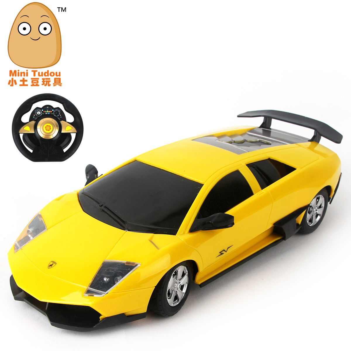 online shop funny toy child build kid family fun rc car remote control toy car model 116 steering wheel remote control car controle remoto aliexpress