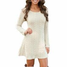 Plus Size Dresses White Jumper