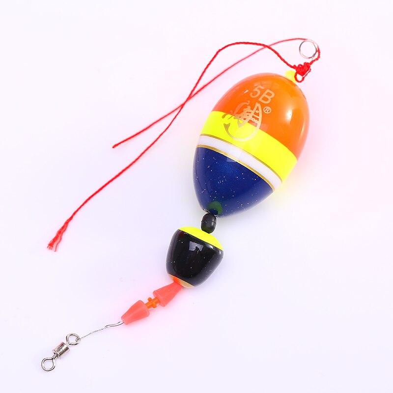 Открытая спортивная рыбалка соленой воды поплавок плавающий буяж набор Рыбалка - Цвет: 5B