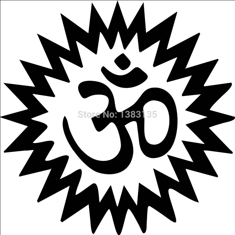 Bumper car Vinyl Sticker Motorbike decal window Bike vehicle Goddess pentagram
