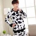 330138/autumn /Men/ Pajamas suit/Coral cashmere/Home clothes/Do not fade/Soft Comfortable /long sleeve suit/