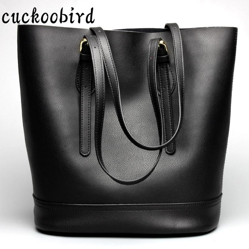 Large Capacity Women Genuine Leather Top-Handle Bag Ladies Shoulder Bags Crossbody Bags Soft Fashion Womens Handbags profiline картридж pl 106 306 706 совместимый