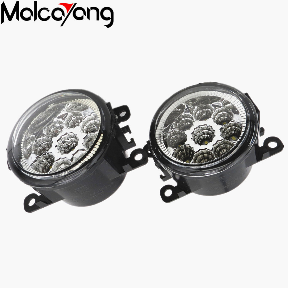 2 Pcs/Set Car-styling 6000K CCC 12V 55W DRL Fog Lamps Lighting For Renault DUSTER LATITUDE LOGAN Laguna / MEGANE 2/3 35500-63J02 шампуни dove шампунь питающий advanced hair series преображающий уход 250мл