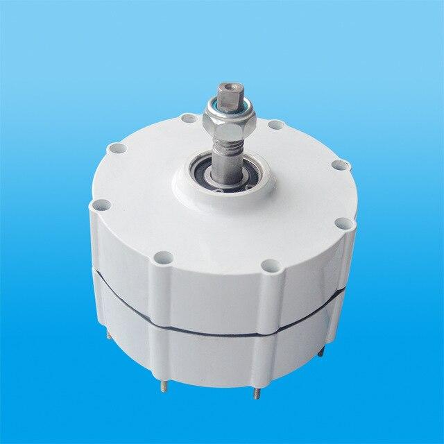 Nouveautés 500 w 12/24/48 v générateur à aimant permanent à faible régime pour vent turbine générateur utiliser