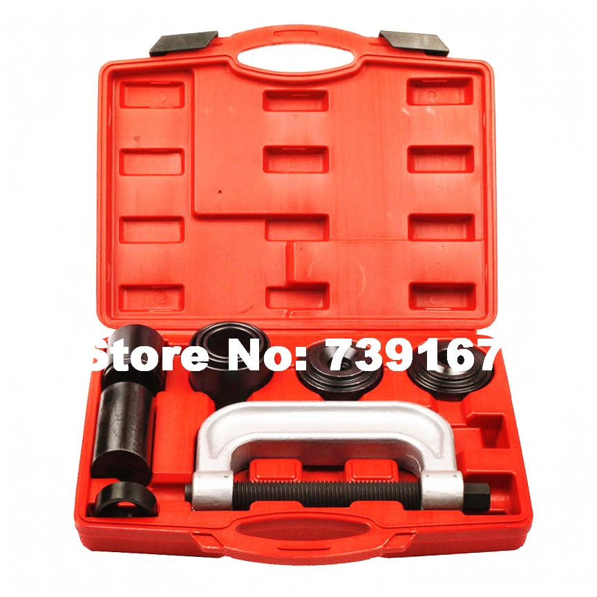 Auto Suspension Ball Joint Removal Repair Garage Tool Car Ball Joint C Frame Extractor Remover For Ford Jeep 2WD/4WD ST0022 new 4 in 1 ball joint auto remover installer tool service 2 & 4wd auto repair brake ball joint c frame press service kit