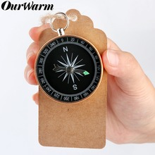 OurWarm 10pcs Compass+Tags Labels Travel Themed Party Decoration Birthday Wedding Gifts for Guests Souvenirs
