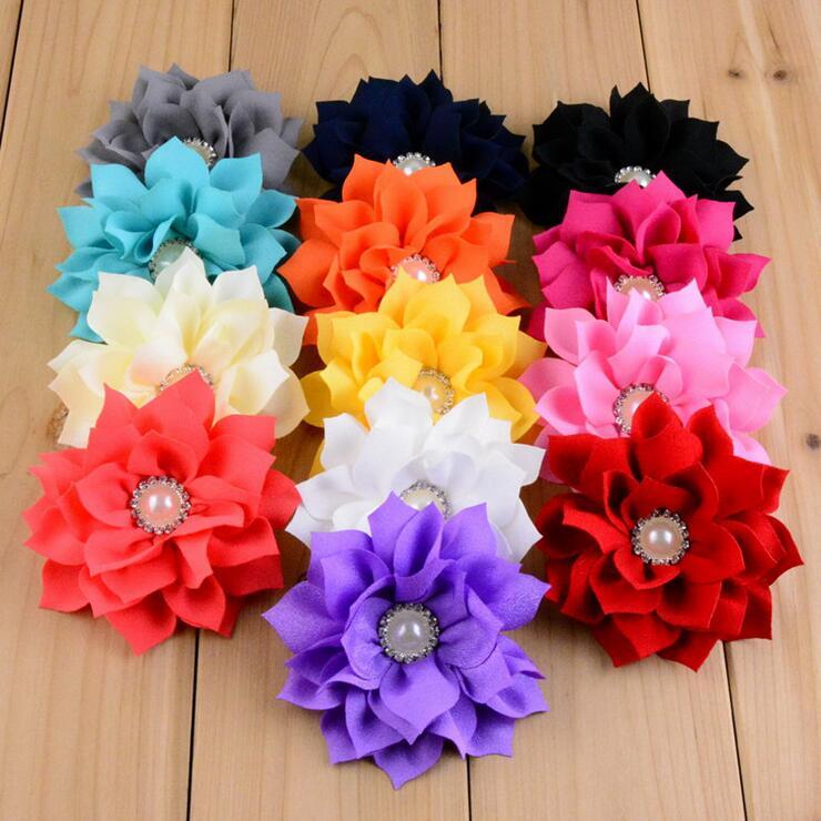 N30pcs 8 85cm fabric flower for kid headband diy craft can choose 30pcs 8 85cm fabric flower for kid headband diy craft can choose colorshmf 16 mightylinksfo