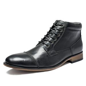 Image 5 - VRYHEID Brand High Quality Men Boots Big Size 40 50 Genuine Leather Vintage Men Shoes Casual Fashion Autumn Winter  Ankle Boots