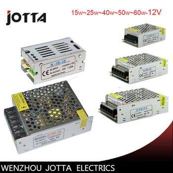 شحن مجاني 12V15W 25 W 40 W 60 W لوحة تحويل امدادات الطاقة 12 v إمدادات الطاقة 12 v مصباح LED للامداد بالطاقة