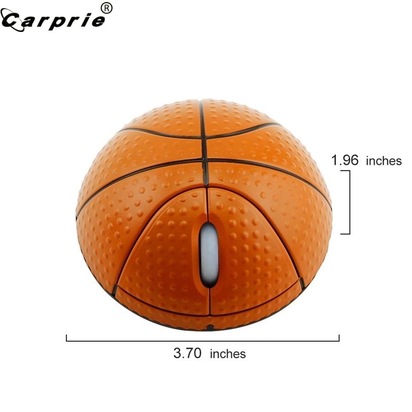 CARPRIE спортивная баскетбольная форма 2,4 ГГц Беспроводная игровая мышь эргономичная 3D оптическая мышь для ПК ноутбука 90523-3