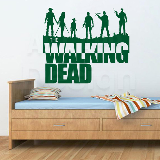 The Walking Dead Removable Artwork Sticker For Wall
