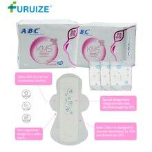 Menstrual Sanitary Pad menstruation ABC Napkin tampon pad beautiful life tampons Night Use 280MM women