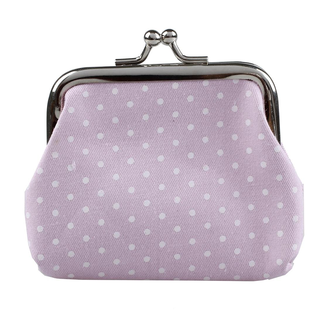 Popular Cute girls Wallet Clutch Change Purse key/coins bag Mini Handbag Pouch Pink
