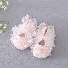 Christening Infant Girl Lace Shoes,Baby Walker,Little Girls Shoes,Chaussure Fille,Sapatinho De Menina,Cute Bapteme Shoes,#S0001